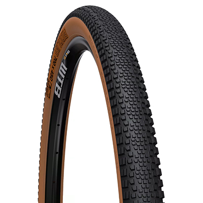 WTB Riddler Light Fast Rolling Tyre Black Tan Sidewall 700c 45c Folding Bead