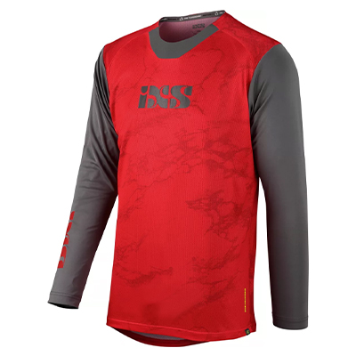 IXS Trigger X Air Jersey 2021 Red-Graphite XL
