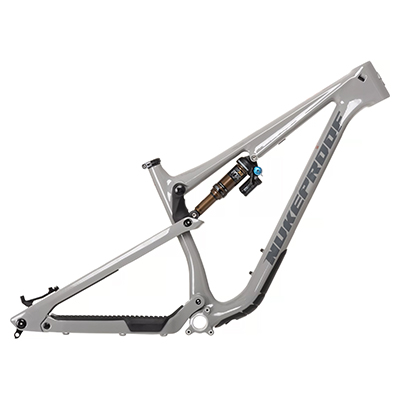Nukeproof Reactor 290 Carbon Mountain Bike Frame 2021 Concrete Grey M