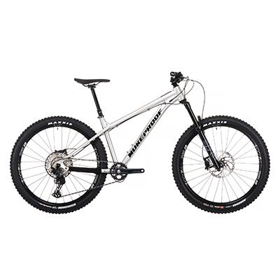 """Nukeproof Scout 275 Pro Bike (SLX) 2021 Brushed Alloy S 27.5"""""""