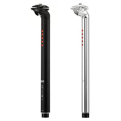 Brand-X LightSKIN Seatpost Silver 350mm 27.2mm