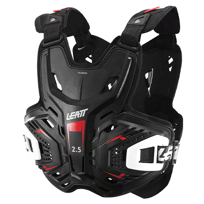 Leatt Chest Protector 2.5 Black One Size