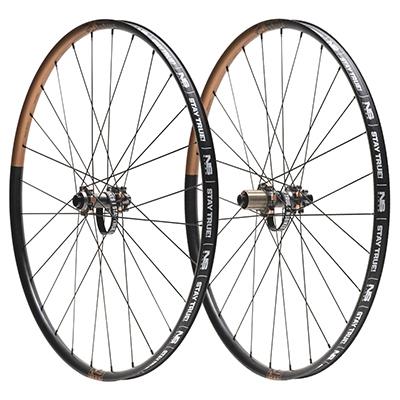 "NS Bikes Enigma Lite Boost Wheelset Black-Oil Rub 29"""