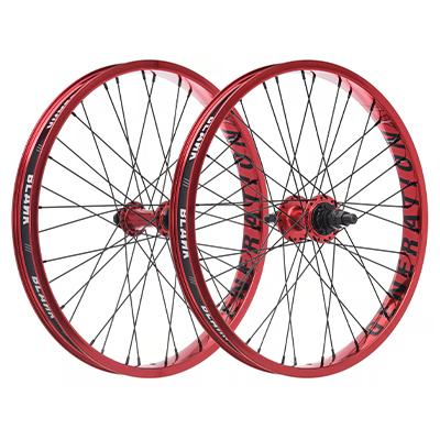 "Blank Generation XL BMX Wheelset Red 20"""