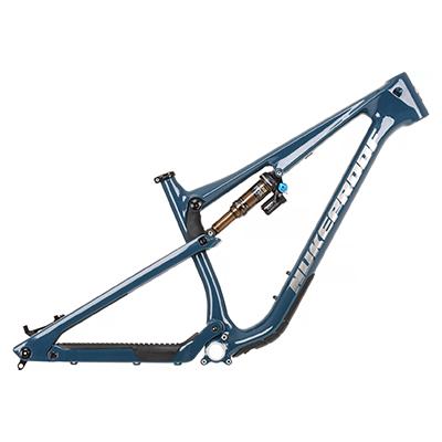 Nukeproof Reactor 275 Carbon Mountain Bike Frame 2021 Bottle Blue L