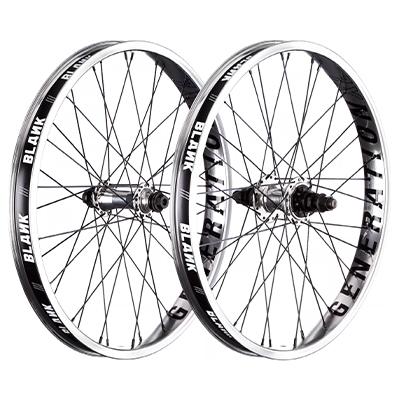 """Blank Generation XL BMX Wheelset Polished 20"""""""